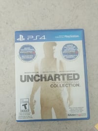 Uncharted The Nathan Drake Collection PS4 game case Grande Prairie, T8W 2R2