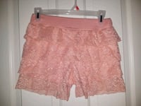 Lace Shorts size Small Jr Colorado Springs, 80918