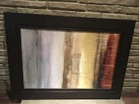 Lanie Loreth Summer Rain Framed Picture 45 length by 33 height. Toronto, M9P 2X2
