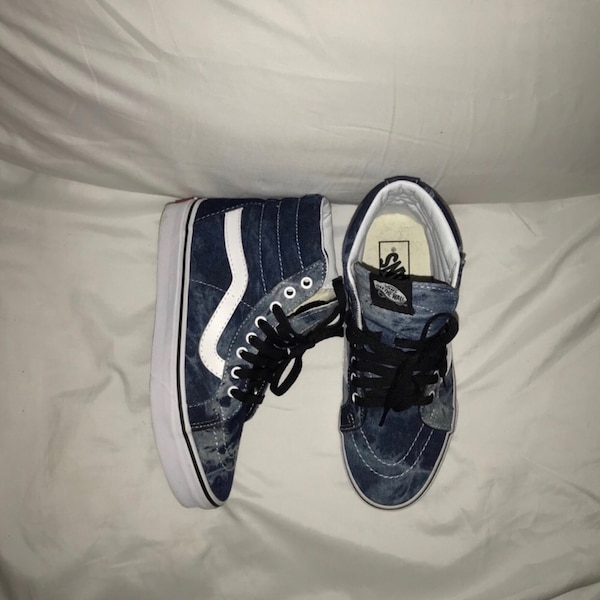 1c9191c50 Used Blue Tie Dye Vans for sale in Stratford - letgo