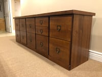 Vintage Wooden File Cabinet  Palos Heights, 60463