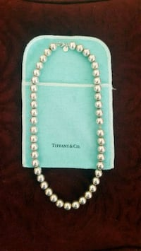 Authentic Tiffany & Co Silver Ball Necklace Lake Worth, 33467