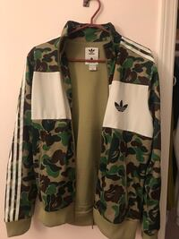Green camo firebird x adidas track jacket Richmond, V6Y