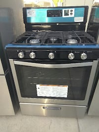 black and gray gas range oven Anaheim, 92804