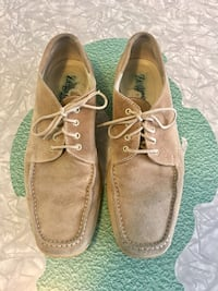 Men's Segna S Sport Italian Tan Suede Lace-Up Loafers Sneakers  Newmarket, L3Y