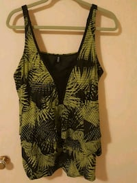 Bathing Suit Top Green Tropical Edmonton, T5W 3X5