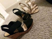 Both are size 10 i only wear them one time.. Tampa, 33625