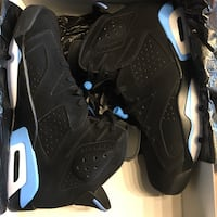 Nike Air Jordan Retro 6 unc size 12.5 vnds Falls Church, 22042