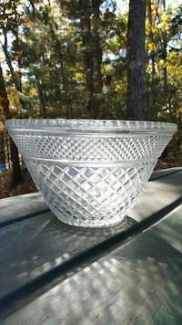 Crystal punch bowl Chelmsford, 01824