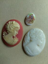 CAMEOS, 2 BROACH SIZE, ONE RING SIZE. Keizer, 97303