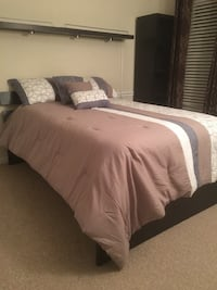 Full size bed without comforter. Lightly used Silver Spring, 20904