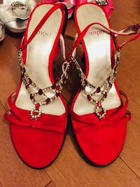 red Heel size 5.5/6