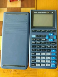 black and blue Texas Instruments TI-83 Plus Green Bay, 54302