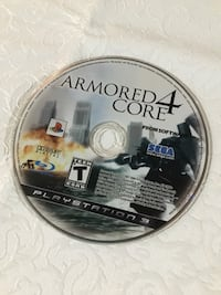 Armored Core 4 for PS3 Oakville, L6H