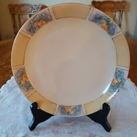 "Bavaria Royal Crescent China Decorative 9"" Collector Plate For Sale! Ottawa"