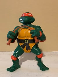 MAKE AN OFFER tmnt action figure Michael Angelo