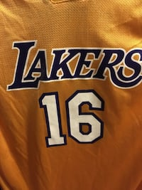 XL Adidas Lakers Jersey Los Angeles, 91436