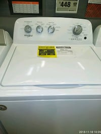 white top-load clothes washer Capitol Heights, 20743