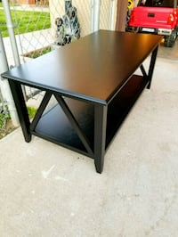 Like new Black Color wood coffee table  Moreno Valley, 92551