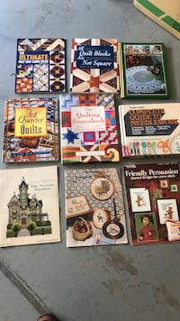 Quilt needle work books $ 30 for 9 books Tracy, 95377