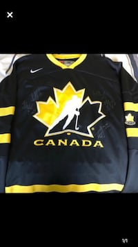 SIGNED Team Canada Jersey
