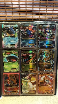 Pokémon sale  Mega 20  Mega full art 1  Level x 1  Coins 2  Ex 9  Full art ex 2  Big card ex 2  Gx 3  Breaks 3   Full art trainer 1  Pokémon case for cards 2  A set =ex and the mega 5  Tins 5  Normal     Water cards 51 water energy's 18  Leif cards 75 Lei Ancaster, L9G 4W5