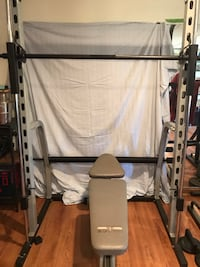 Home gym and bench Mount Airy, 21771