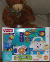 Fisher-Price Laugh & Learn learning gift set box