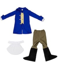 George Washington Children's Boy Halloween Dress Up Party Roleplay Costume for kids 5-6 years old Bakersfield, 93306