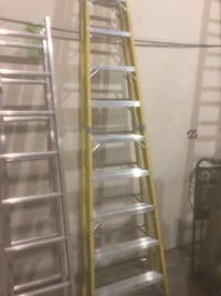 10' featherlite fibreglass ladder
