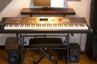 Roland S-88. Amazing instrument. With bench, stand, case and sustain pedal   Jersey City, 07304