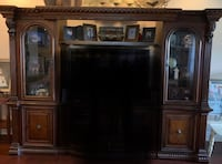 Real wood large entertainment center Luling, 70070