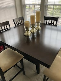 Dark Brown dining table 7 piece Alexandria, 22306