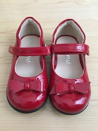 toddler's red leather mary jane shoes Falls Church, 22043
