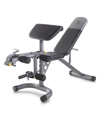 GOLDS GYM XRS-20 WEIGHT BENCH!!!
