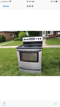 gray and black induction range oven screenshot Dearborn Heights, 48127