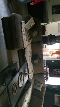 brown sectional no tears great condition.  need gone asap Spring, 77373