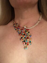 ELEGANT EVENING NECKLACE/EARRINGS ( Brand New. ) it is the last one Manassas, 20109
