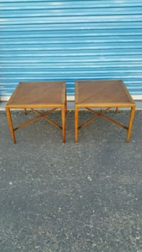2 MID CENTURY SIDE TABLE END TABLES BY TOMLINSON  Phoenix, 85023