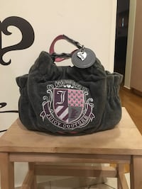 authentic juicy couture dark grey bag Athens, 10678