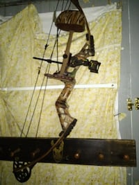 black and gray compound bow Otsego, 49078