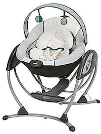 black and white Fisher-Price cradle n swing Mississauga, L5G