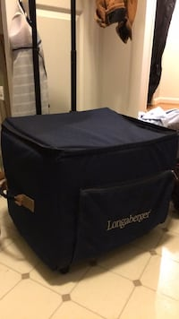 Longaberger travel case Herndon, 20171