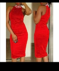 women's red sleeveless dress Birmingham, B23 6BJ