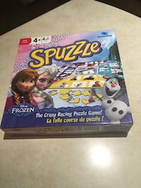 Spuzzle 'Frozen' Game