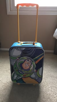 Child buzz light year suitcase with wheels Baltimore, 21221