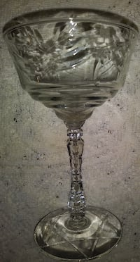 6 Vintage Star of David Champagne Coupes Brownsboro