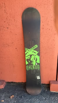 black and green snowboard deck Calgary, T2E