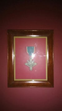 silver-colored medal and brown wooden frame Oconto, 54153
