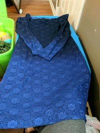 Sparkly Black/Blue Ombre dress Boiling Springs, 29316